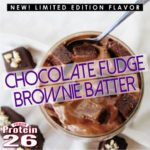 i love chocolate - fudge brownie protein 26