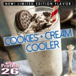 i love chocolate - cookies and cream cooler